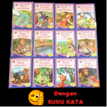 SIRI FABEL KLASIK POKET-12 BOOKS PER SET (MALAY VERSION)