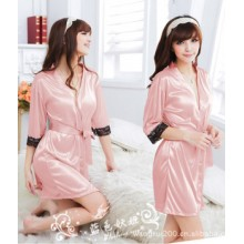 Secret Beauty Covered in Pink Robes K0022