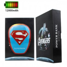 Avengers Superman 12000mAh Powerbank