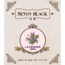 SEVEN BLACK Organic Premium Flower Tea - Lavender Girl