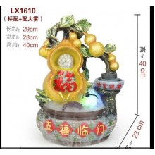 FENG SHUI WATER FOUNTAIN - 1610 CHINESE HOME OFFICE DECO GIFT