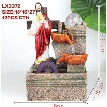 CHRISTIAN FENG SHUI TABLE TOP WATER FOUNTAIN LX3372 HOME DECORATION