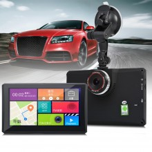 902 7 INCH ANDROID 4.4 CAR TABLET GPS 170 DEGREE WIDE ANGLE (BLACK) Black