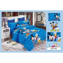 4 in 1 Set 800TC Mickey Mouse Donald Duck Bedding Bed Sheet Super Single Size