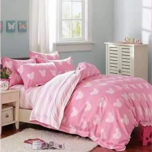 6 in 1 Set High Quality 800TC Disney Mickey Bedding Bedsheet Queen King Size