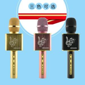 JY50 两架一起合唱 KTV Portable Karaoke Bluetooth Microphone Speaker Mic